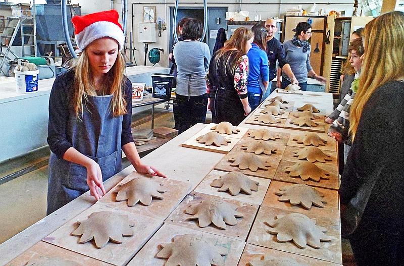 Töpfern und Weihnachtsmarkt – en français – Kettelerschule
